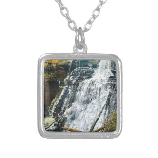Brandywine Falls Cuyahogo National Park Ohio Silver Plated Necklace