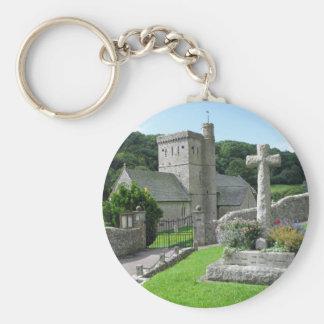 Branscombe Church Key Ring
