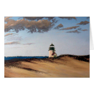 Brant Point Harmony Nantucket Greeting Card