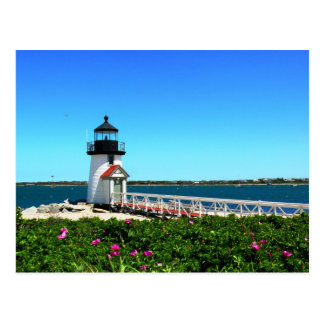 Brant Point Lighthouse Postcard