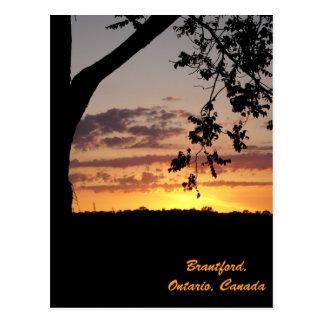 Brantford, Ontario, Canada Postcard