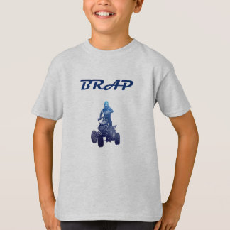 Brap Boys ATV Four Wheeler Rider Tee Shirt