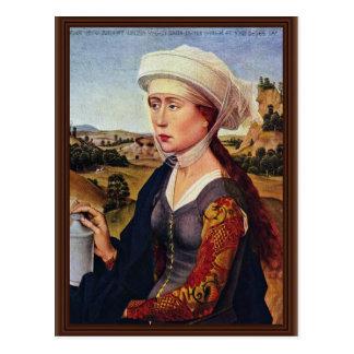 Braquealtar Right Wing: Maria Magdalena Postcard