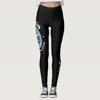 Brasa -blue- Spats size ball Leggings