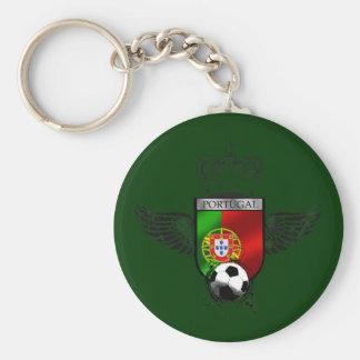 Brasão da Bandeira Portuguesa - Estilo retro Key Chains