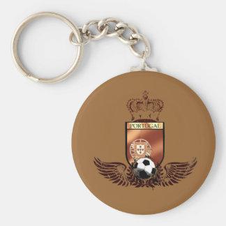 Brasão dos fás de futebol portuguesa keychains