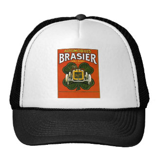 Brasier Automobiles Vintage French Advertisement Trucker Hats