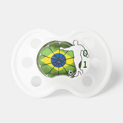 BRASIL 2014 GIFTS CUSTOMIZABLE PRODUCTS PACIFIER