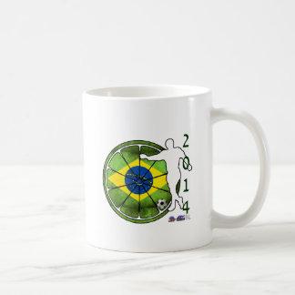 BRASIL 2014 GIFTS CUSTOMIZABLE PRODUCTS COFFEE MUG