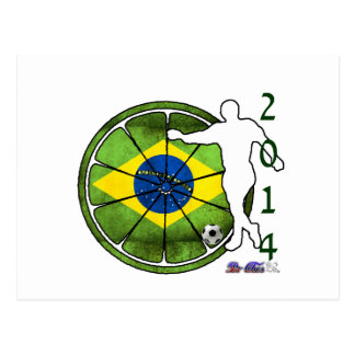 BRASIL 2014 GIFTS CUSTOMIZABLE PRODUCTS POSTCARDS