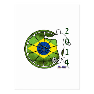BRASIL 2014 GIFTS CUSTOMIZABLE PRODUCTS POSTCARD