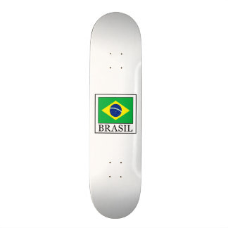 Brasil 21.6 Cm Old School Skateboard Deck
