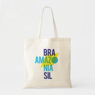 Brasil Amazonia Flag Tote Bag