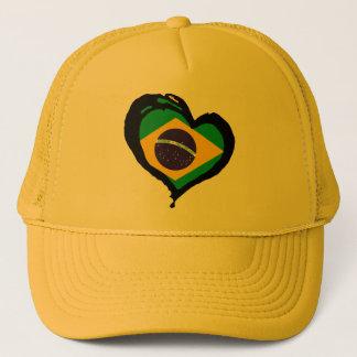 Brasil Brazil Trucker Hat