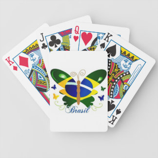 BRASIL BUTTERFLY BICYCLE PLAYING CARDS