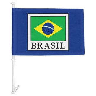 Brasil Car Flag