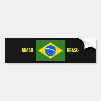 Brasil Center flag bumper sticker