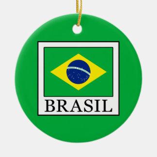 Brasil Ceramic Ornament