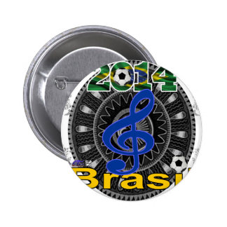BRASIL CLAVE SOL GIFTS CUSTOMIZABLE PRODUCTS PIN