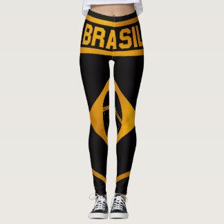 Brasil Emblem Leggings