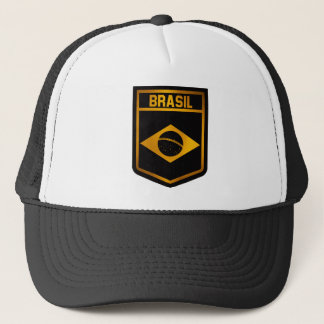 Brasil Emblem Trucker Hat