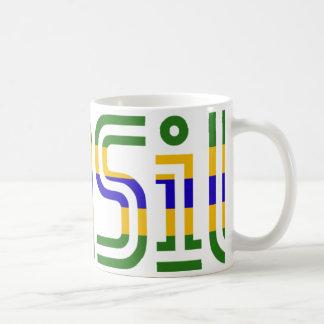 Brasil Flag Colors! Coffee Mug