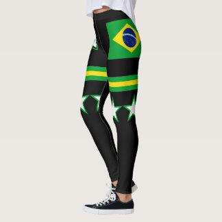 Brasil Flag Leggings