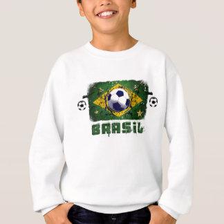 Brasil Grunge Soccer players Brazil Soccer gifts Sweatshirt