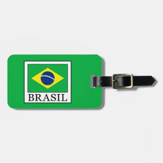 Brasil Luggage Tag