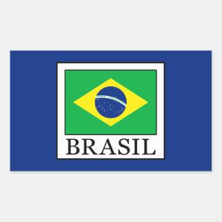 Brasil Rectangular Sticker