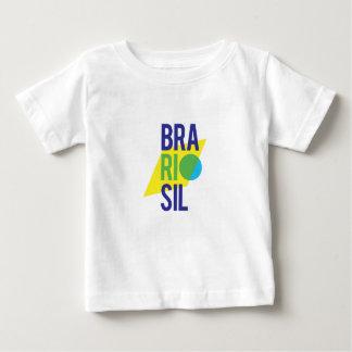 Brasil Rio Flag Baby T-Shirt