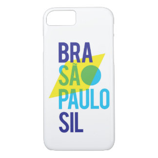 Brasil São Paulo Flag iPhone 8/7 Case