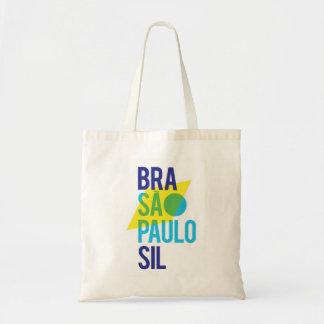 Brasil São Paulo Flag Tote Bag