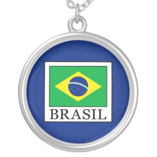 Brasil Silver Plated Necklace