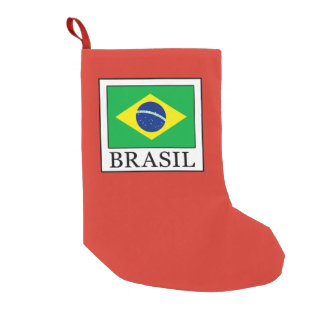 Brasil Small Christmas Stocking