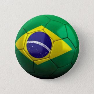Brasil soccer button
