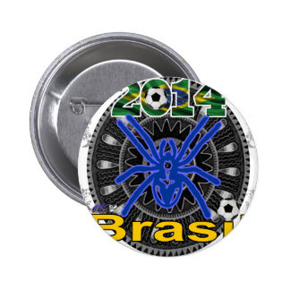 BRASIL SPIDER CUSTOMIZABLE PRODUCTS PIN