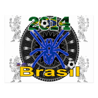 BRASIL SPIDER CUSTOMIZABLE PRODUCTS POSTCARD