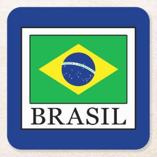 Brasil Square Paper Coaster
