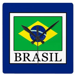 Brasil Square Wall Clock
