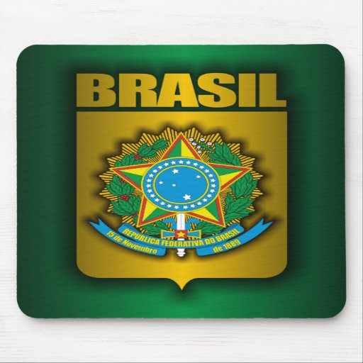 """Brasil Steel"" Mousepad"