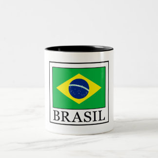 Brasil Two-Tone Coffee Mug