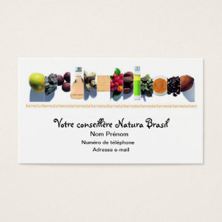 brasil will natura business card