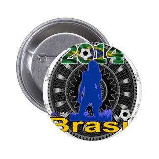 BRASIL WORLCUP GIRL GIFTS CUSTOMIZABLE PRODUCTS PINBACK BUTTONS