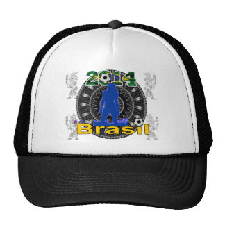 BRASIL WORLCUP GIRL GIFTS CUSTOMIZABLE PRODUCTS HAT
