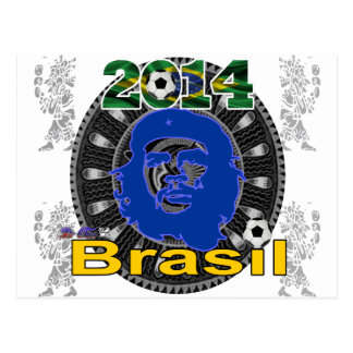 BRASIL WORLDCUP GIFTS CUSTOMIZABEL PRODUCTS POSTCARD