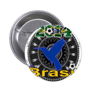 BRASIL WORLDCUP HUMMINGBIRD CUSTOMIZABLE PINS