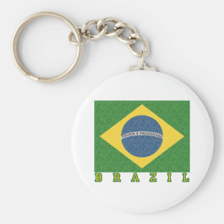 Brasilian soccer 2010 key chains