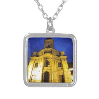 Brasov, Romania Silver Plated Necklace