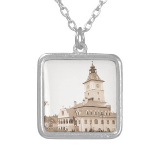 Brasov, Romania Silver Plated Necklace